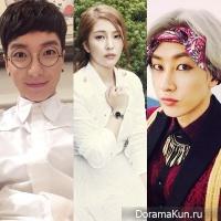 Leeteuk,BoA,Eunhyuk