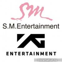 SM Entertainment, YG Entertainment