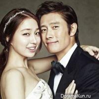 Lee Min Jung & Lee Byung Hun