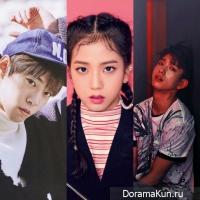 Doyoung, Jinyoung, Jisoo