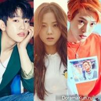 Jinyoung, Jisoo, Doyoung