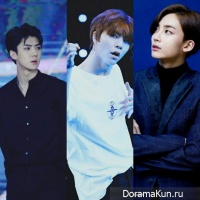 Sehun, Johnny, Jeonghan
