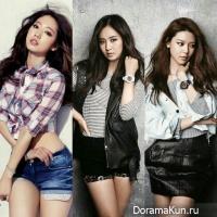 Park Shin Hye, Yuri, Sooyoung