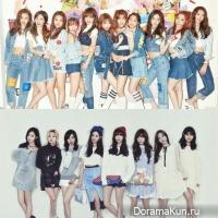 I.O.I, Girls' Generation