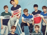 Wanna One для K-SWISS
