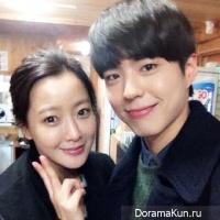 Kim Hee Sun,Park Bo Gum
