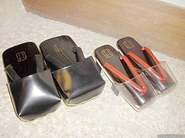 Япония. Гэта - Факты об азии - Интересное Платформа Обувь Мужская