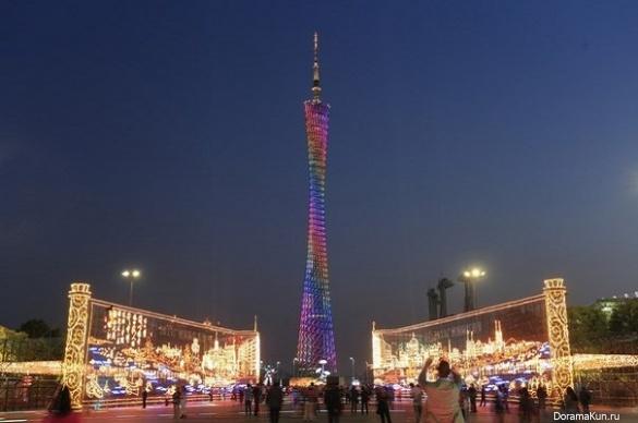 Телебашня Гуанчжоу