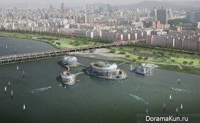 Плавучие острова Сеула