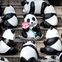 Бумажные панды