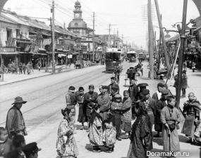 Tramway-Tokyo 1904