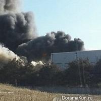 Пожар на JTBC