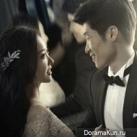 Park Ji Sung and Kim Min Ji