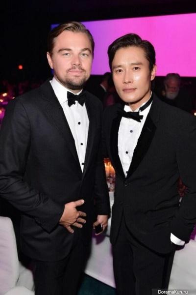 Lee Byung Hun and Leonardo DiCaprio