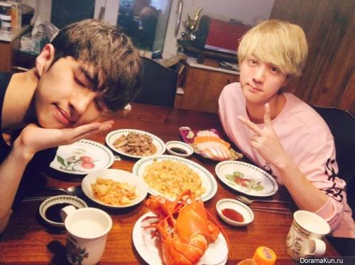 VIXX Ken and Jin из BTS