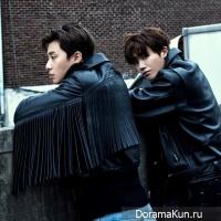 Park Seo Joon and Park Hyung Sik