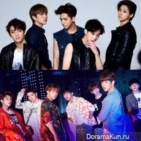 B1A4 and Infinite