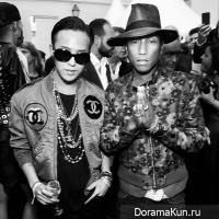 G-Dragon and Pharrell Williams