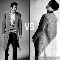 На ком костюмчик лучше сидит?