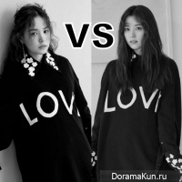Min Hyo Rin vs Han Hyo Joo