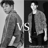 Park Hyung Sik vs Lee Hyun Woo