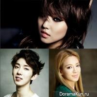 Hyoyeon (SNSD), Jokwon & Min (miss A)