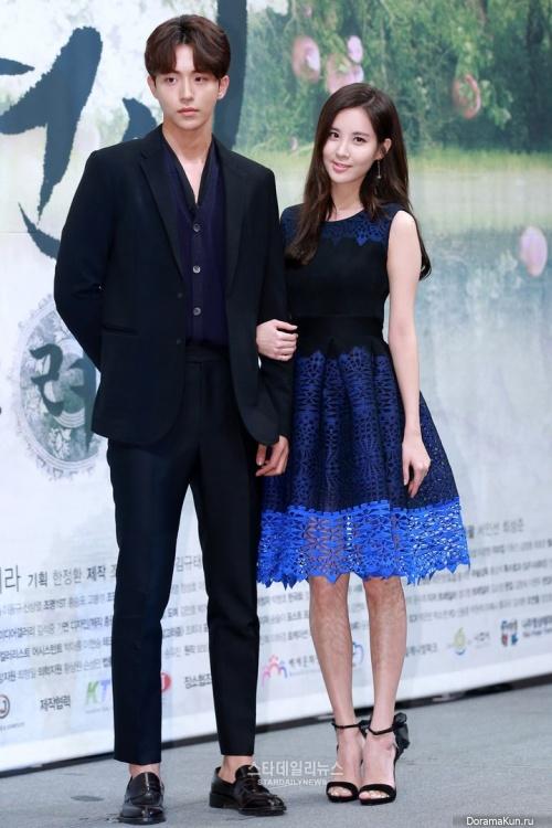 Seohyun and Nam Joo Hyuk