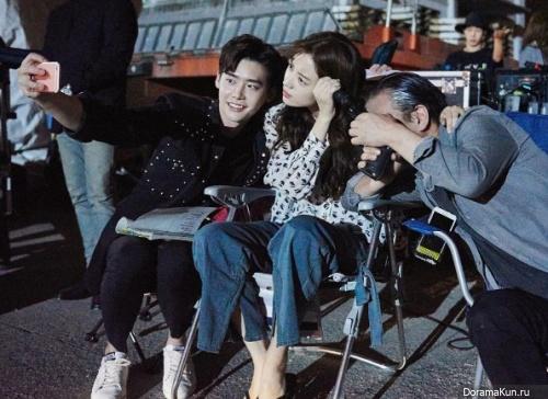 Lee Jong Suk, Han Hyo Joo and Kim Eui Sung