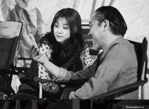 Han Hyo Joo and Kim Eui Sung