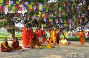 birthday of Buddha in India