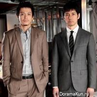 Shun Oguri & Hidetoshi Nishijima
