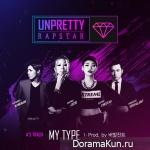 Jessi (Lucky J), Cheetah, KangNam (M.I.B) – Unpretty Rapstars Track 3