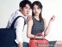 Suzy из miss A & Yoo Yeon Seok для Beanpole Accessory