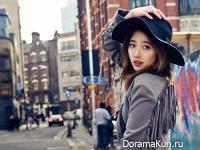 Suzy из miss A для Cosmopolitan April 2015