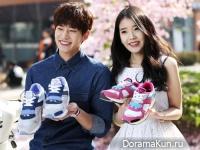 Song Jae Rim и IU для Sbenu