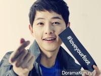 Song Joong Ki для Kolon Sport