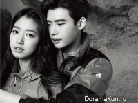 Lee Jong Suk и Park Shin Hye для Millet
