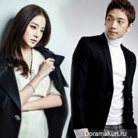 Rain и Kim Tae Hee