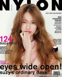 Интервью Сюзи для журнала Nylon Korea