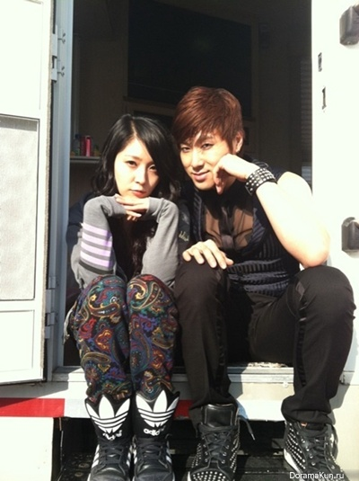 BoA и Jung Yunho из TVXQ