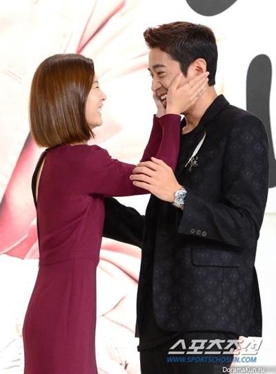 Jung Yoo Mi и Eric из Shinhwa