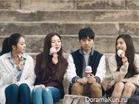 Red Velvet и Ryu Deok Hwan для Baskin Robbins