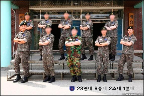 Yoochun-army