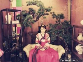 Hanbok Cafe in Insadong