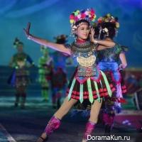 The festival of ethnic fashion Miao