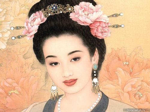 China. Concubines