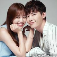 Lee Jong Suk-Han Hyo Joo