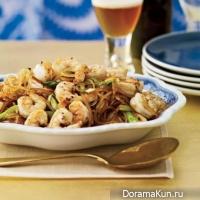 Fried shrimp Szechuan
