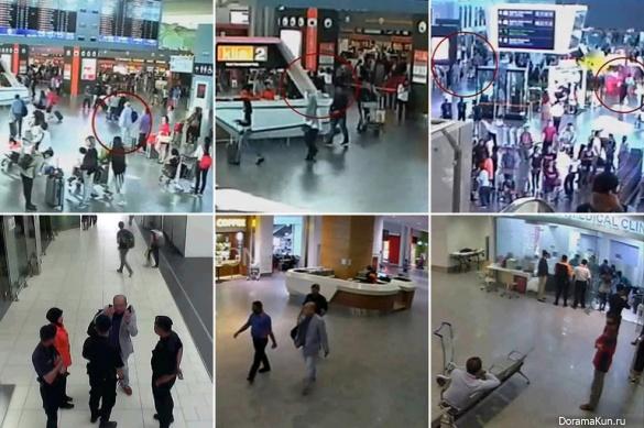Kim Jong-nam/Kuala Lumpur International Airport on Feb. 13