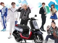 Bam Bam, JJ, Mild, Captian, Best для Yamaha